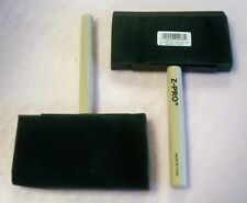 """(Lot Of 35) 4"""" Foam Paint Brush With Wooden Handle Fb4"""