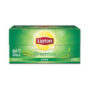 Lipton Green Tea Pure Ceylon BOPF Green Tea 20 Bags Freeshipping