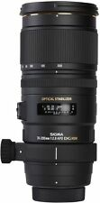 Sigma 70-200 mm F2.8 APO EX DG OS HSM Objectif Nikon Fit BRAND NEW UK Stock