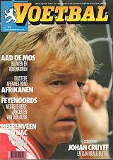 MAGAZINE VOETBAL 1993 nr. 11 - PSV & AAD DE MOS/CRUYFF/KATWIJK/FEIJENOORD