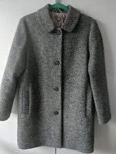 Cos Speckled Wool Coat, Size 12