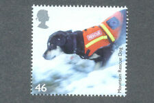 Dogs-Mountain Rescue Dog mnh single Great Britain