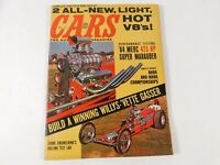 Vintage Original December 1963 CARS The Automotive Magazine Custom Car Mods