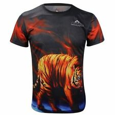 Polyester Cycling Casual T-Shirts and Tops