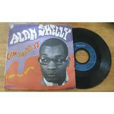 ALAN SHELLY -  Can You Do It / I Pray That Someone French PS Killer R&B 69'
