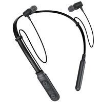 Neckband Earphone Wireless Bluetooth Headphone Sport Headset Earbuds With Mic
