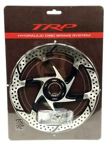 TRP 203mm 2 Piece Mountain Bike Disc Brake Rotor with Heat Dispersion Stainless