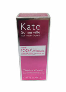 New Kate Somerville Wrinkle Warrior 2 in 1 Plumping Moisturizer + Serum 1.7 oz