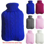 2000ml Cover Large Heat Preservation Hot Water Bottle Explosion-proof Knitted US