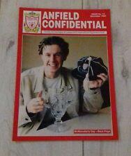 422) Anfield confidentiel magazine édition de novembre 1995