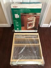 Rev A Shelf 448-5BC-5 Inch Pull Out Wood Base Kitchen Cabinet Organizer, Maple