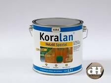 Kiefer  Öl, Holzöl Spezial, Koralan 2in1 Schimmelschutz 2,5 Liter 19,40 € / l