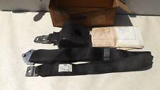 1972 Ford Maverick Front Seat Belt Retractor Shoulder StrapBlack D2DZ-62611A72-T