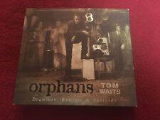 TOM WAITS SIGNED CD ORPHANS BRAWLERS BRAWLERS AND BASTARDS