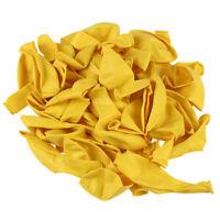 Ballons en latex de qualite de Helium Jaune de 12 pouces - Paquet de 50 Pcs A4H3