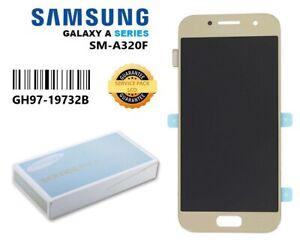 Genuine Samsung A3 2017 SM-A320F Gold LCD Screen & Digitizer GH97-19732B