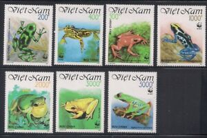 Vietnam   1991   Sc # 2275-81   Frogs   MNH   (10643)