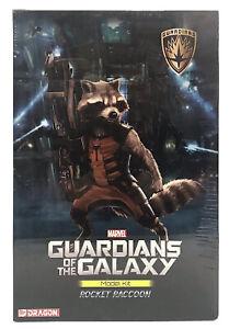 "Guardians of the Galaxy Rocket Raccoon 7"" Model Kit 38340 Dragon New Sealed"