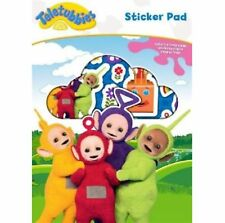 Teletubbies Sticker Pad Childrens Kids Create Story Scenes Reusable Stickers