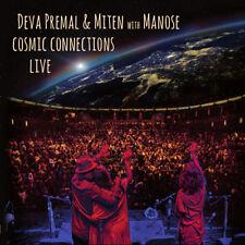 Deva Premal, Miten, - Cosmic Connections Live [New CD]