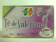 THERBAL VALERIAN ROOT TEA 25 BAGS - TE DE VALERIANA