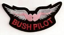 BUSH PILOT EMBROIDERED BIKER PATCH