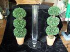 Orrefors Sweden Crystal Glass Multi Faceted Bud Vase with sticker