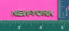 12 wholesale lead free pewter new york flats Aa38