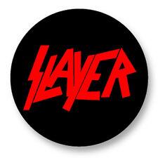 "Pin Button Badge Ø25mm 1"" Slayer Big Four Thrash Metal"