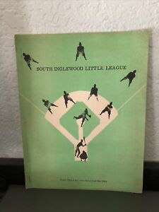 1965 SOUTH INGLEWOOD CA LITTLE LEAGUE PROGRAM/BOOKLET