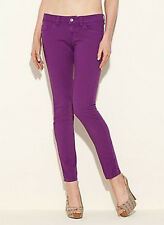 NWT GUESS $98 Brittney Purple Skinny Jewel color Jeans sz XS 24