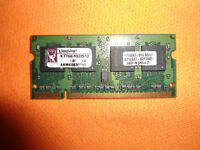 Kingston KTT667D2/ 512MB SO DIMM 200-Pin DDR2 Memory Modules,27 PIECES ONE LOT.