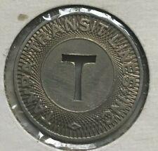 Tampa Florida FL Tampa Transit Lines INC Transportation Token