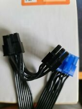 Silverstone 8Pin to 8pin (6+2) & (6) Pin PCIe Modular Power Supply Short Cable