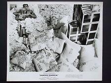 ORIGINAL PROMO PHOTO MARISA MELL JOHN LAW - DIABOLIK ITALIAN FILM DOLLAR BILLS