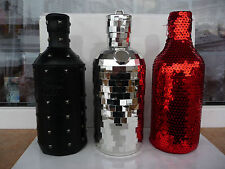 Lot 3pcs. Vodka absolut skin box rock disco masquerade red black empty used rare