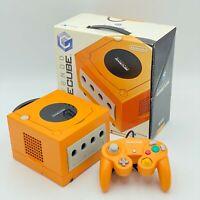 Nintendo GAMECUBE  ORANGE Console BOXED JAPAN