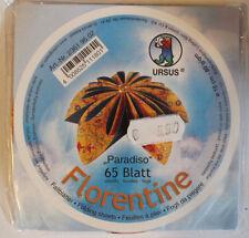 Faltblätter Florentine Paradiso 02; 65 Blatt D: 10 cm 80 g/qm