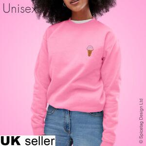 Ice Cream Sweatshirt 99 Cone Sweater Lolly Jumper Summer Stylish Top Unisex Cute