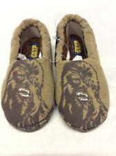 Stride Rite Boys Darth Vader Star wars Slippers Size 9-10 Brown