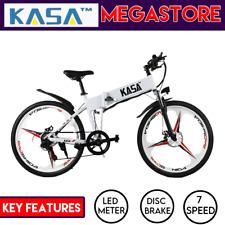 KASA Foldable Bike 48V Electric E-Bike Folding Bicycle Lithium Battery Powered
