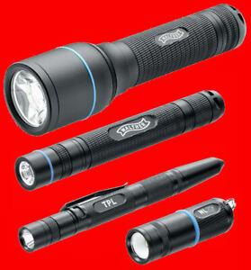 Walther Torcia Elettrica Lampada Tascabile Tattico LED Operati Con Batteria E