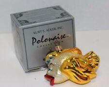 Mint! Vintage Polonaise Kurt Adler Komozja Magic Fish Ornament w/Box Rare!