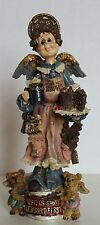 Folkstone Collection By Boyds Bears - Auntie Cocoa M. Maximus Chocolate Angel