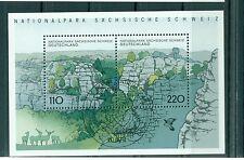 Allemagne -Germany 1998 - Michel feuillet n. 44 - Parc national de la Suisse