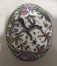 Coimbra Portugal Hand Painted Trinket Box