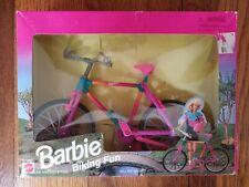 Vintage 1995 Barbie Biking Fun No.67053-91 By Mattel