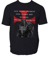 Templar T Shirt Knights New Knight Teutonic Crusader Cotton Tshirt
