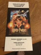 Harry Potter & The Sorcerer'S Stone - Special Screening Invitation