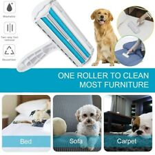 Reusable Pet Hair Remover Dog Cat Lint Fur Roller Sofa Clothes Cleaning Brush US